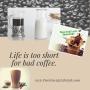 Vegan Cafe' Latte'Shakeology!